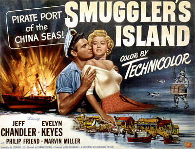 Fid Photograph - Smugglers Island, Jeff Chandler, Evelyn by Everett