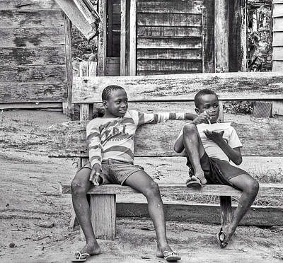 People Photograph - Snack Time by Danielle Del Prado