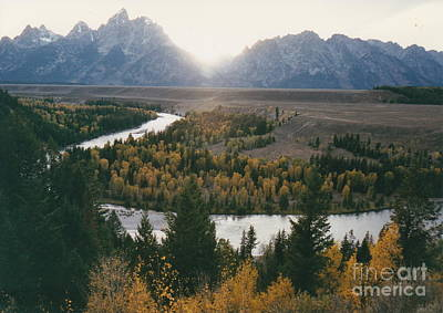 Photograph - Snake River At Sunset by Barbara Plattenburg