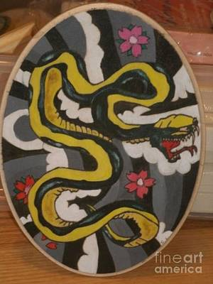 Painting - Snake by Samantha L