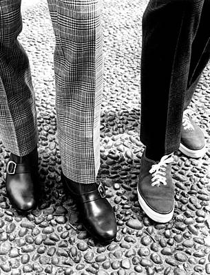 Sneakers Right, W Mod Ankle Boots, 1966 Print by Everett