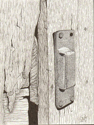 Hardware Drawing - Sneck by Pat Price