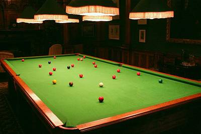Photograph - Snooker by Ed Lukas