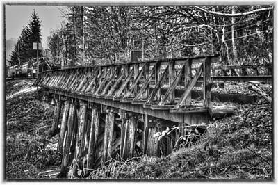 Snoqualmie Trestle Art Print by Scott Massey