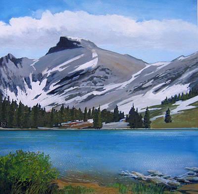 Robert Duvall Painting - Snow Basin by Robert Duvall