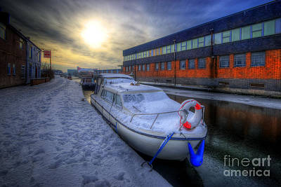 Photograph - Snow Boat 1.0 by Yhun Suarez