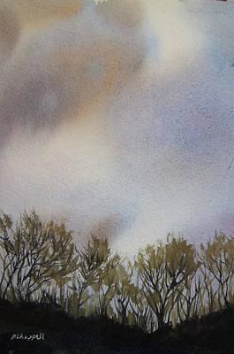 Snow Coming Art Print