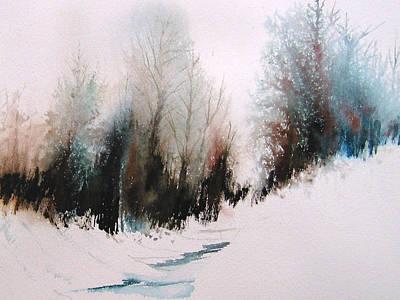 Snow Day Art Print by Diane Ellingham