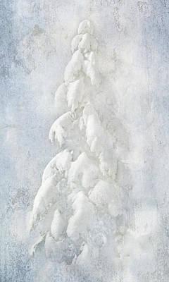 Digital Art - Snow Folly by Judy Neill