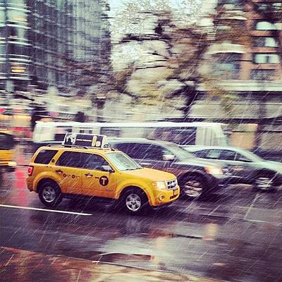 Manhattan Wall Art - Photograph - Snow In Nyc by Randy Lemoine