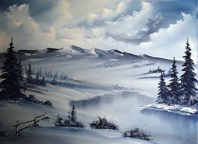 Snow On The Range Original by John Koehler