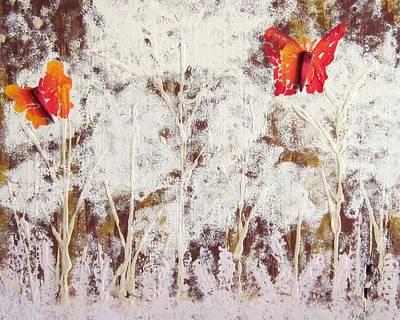 Painting - Snow Spirit by Jarunee Ward