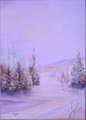 Snow1 Art Print by Nabil Wehbe