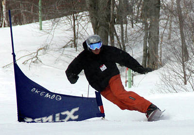 Photograph - Snowboard Racing by Pat Moore