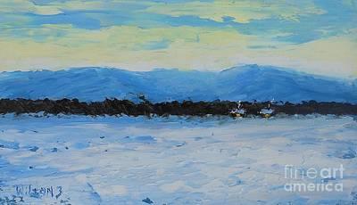 Snowed In Art Print by Fred Wilson