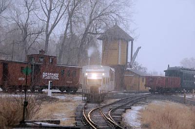 Photograph - Snows A Coming by Ken Smith