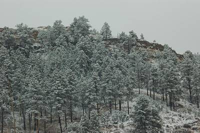 Photograph - Snowy Hilltop by Dakota Light Photography By Dakota