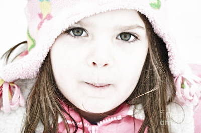 Snowy Innocence Art Print by Gwyn Newcombe