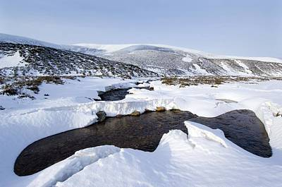 Snowy Landscape, Scotland Art Print by Duncan Shaw
