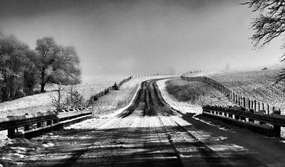 Photograph - Snowy Road by Brent Craft