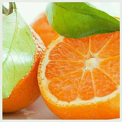 Foodie Photograph - So Sweet! #orange #fruit #jj_forum_0378 by Mary Carter