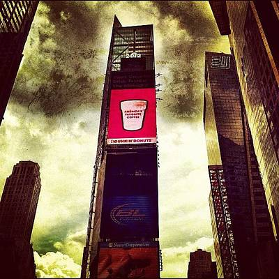 America Wall Art - Photograph - So This Is Why Dunkin Donuts Advertises by Luke Kingma
