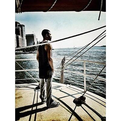 Gmy Photograph - Soaking In The View by Natasha Marco