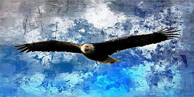 Soaring Art Print by Carrie OBrien Sibley