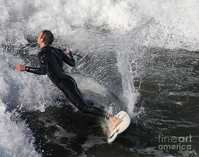Photograph - Socal Surfer by Tom Griffithe