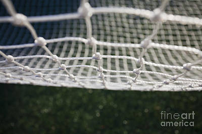 Soccer Net Art Print by Paul Edmondson