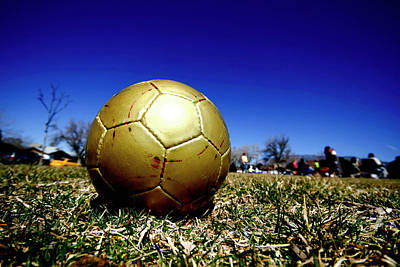 Soccer Ball Photograph - Soccer Season Starts by Scout J Photography