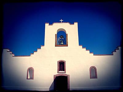 Church Photograph - Socorro Mission Texas by Kurt Van Wagner