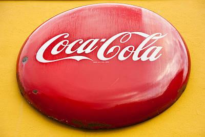 Coca-cola Sign Photograph - Soda Pop Sign by Mark Weaver