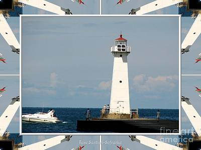 Photograph - Sodus Point Outer Lighthouse by Rose Santuci-Sofranko