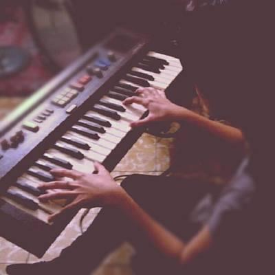 Piano Photograph - Sofi En El Piano. #piano #music by Eduardo Ribera