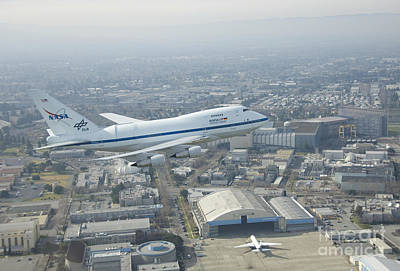 Ames Research Center Photograph - Sofia Flying Observatory by Nasa