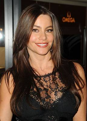 At A Public Appearance Photograph - Sofia Vergara At A Public Appearance by Everett