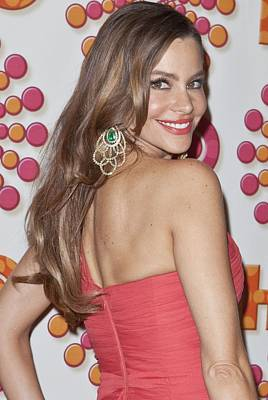 Chandelier Earrings Photograph - Sofia Vergara At Arrivals For Hbo by Everett