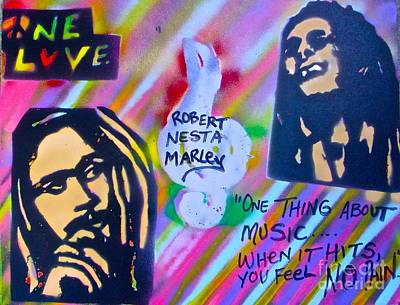 Liberal Painting - Soft Marley by Tony B Conscious