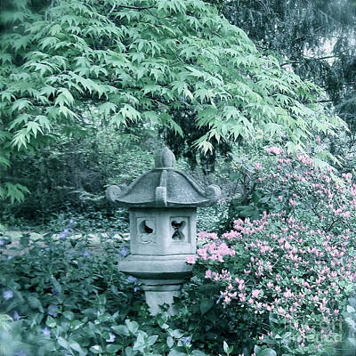 Photograph - Soft Peaceful Garden  by Nancy Patterson