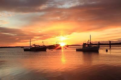 Photograph - Soft Sunrise At Ellis by Jeremy McKay