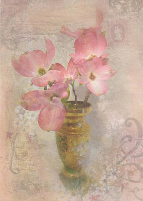 Softly Blooming Art Print by Cindy Wright