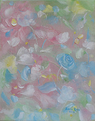 Softly Spoken Art Print by Judith Rhue