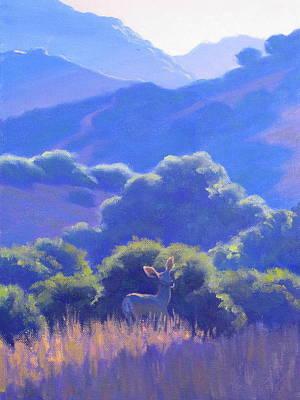 Malibu Painting - Softness  by Elena Roche