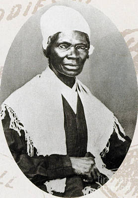 Black History Photograph - Sojourner Truth, African-american by Photo Researchers