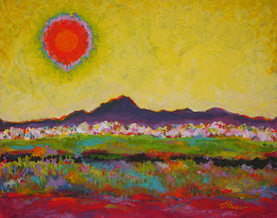 Las Cruces Painting - Sol Of The Mountains by Judy Bess