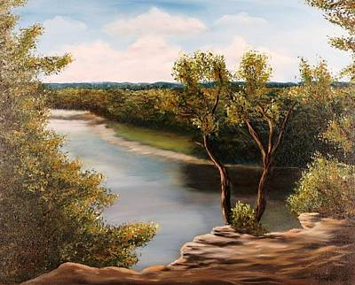 Solado Creek Print by Patti Gordon