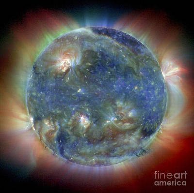 Photograph - Solar Corona by NASA / Science Source
