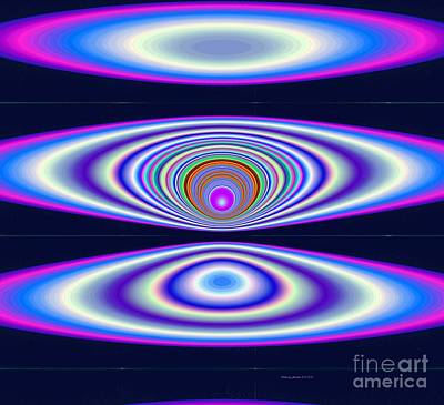 Digital Art - Solar Cosmic Cycle by Deborah Juodaitis