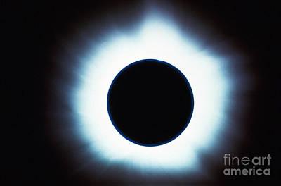 Solar Eclipse Art Print by Stocktrek Images